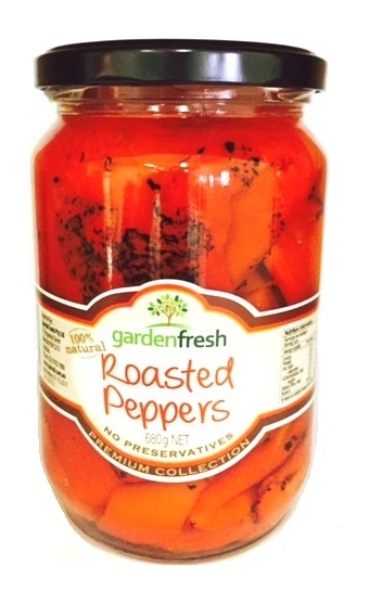 Roasted Peppers 680g